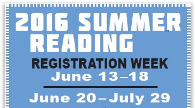 Summer Reading Events June 27 – July 2