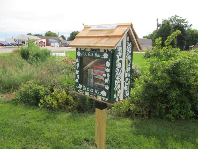 WNIJ Features Our Little Free Library program