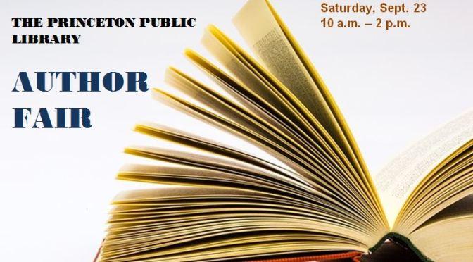 3rd Annual Author Fair Sept. 23