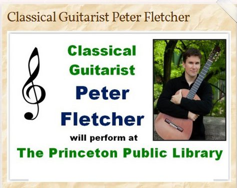 Peter Fletcher Concert Oct. 3