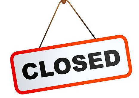 Library Closing Dates in September
