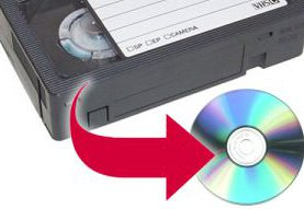 Transfer your VHS tapes to DVDs
