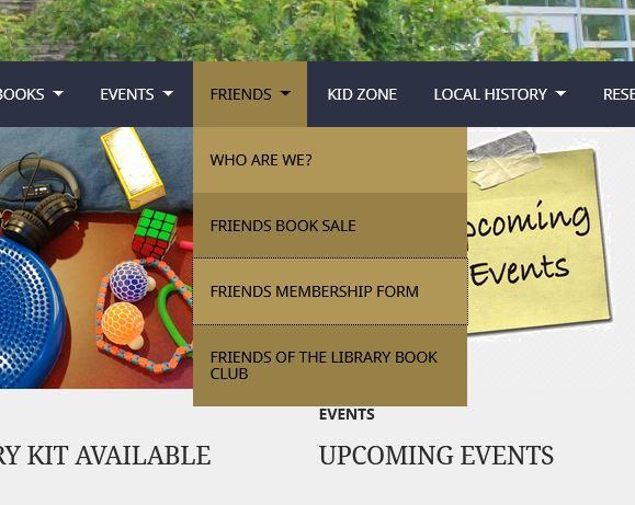 Friends' membership drive