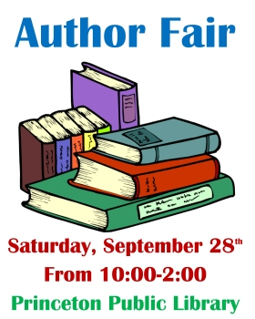 Author Fair Poster2019