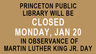 MLK Day Holiday, Jan. 20