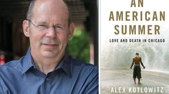 An Evening With Bestselling Author Alex Kotlowitz